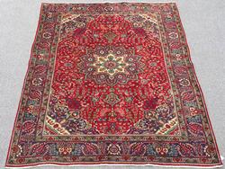 Simply Lovely Mid Century Authentic Handmade Vintage Persian Tehran