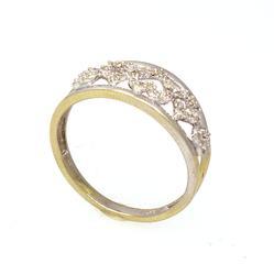 Detailed Diamond Heart Ring, Size 6.5