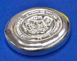 5oz Fine Silver Scottsdale Button
