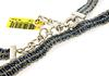 Le Vian Sterling Silver Woven Fabric Necklace
