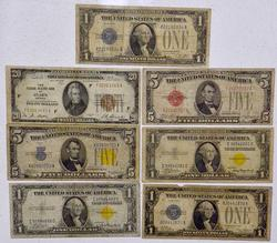 Estate Circulated Note Lot, Big Variety