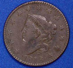 Awesome 1818 Large Cent