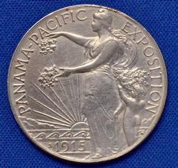 Key Pan Pac 50c Commem, White AU