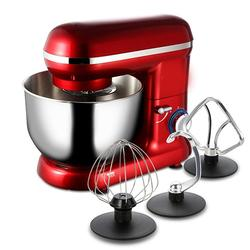 5.5L Stand Table Food Mixer Stainless Steel Mixing Bowl