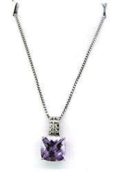 Le Vian Necklace with Amethyst Pendant