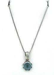 Le Vian Necklace with Blue Topaz Pendant