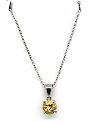 Le Vian Designer Citrine Pendant Necklace