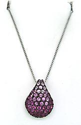 Le Vian Pink Sapphire Pendant Necklace