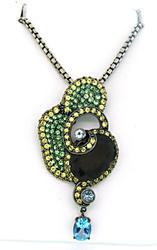 Le Vian Necklace with Multi Gemstone Pendant