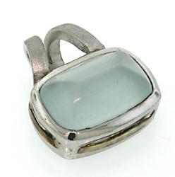 Le Vian White Gemstone Pendant in Sterling Silver