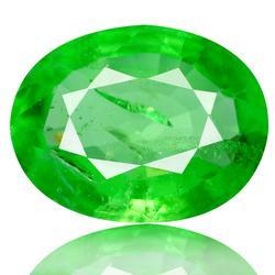 Top emerald green .80ct Tsavorite Garnet