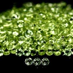 Heavy 14.89ct diamond cut Peridot parcel