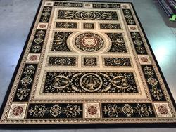 Classic French Euro Scroll  Design Area Rug 8x11