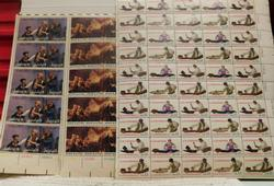 Bicentennial stamps, historical, educational $19.50