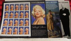 Legends of Hollywood, Marilyn Monroe stamps  $19.20