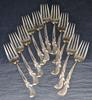 Extensive Set of Wallace Waltz of Spring Sterling Flatware