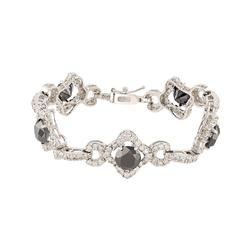 10.38 ctw. Black Diamond Bracelet
