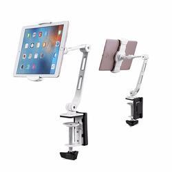 Adjustable Desk Holder for 6 to 13-inch Tablet Phone