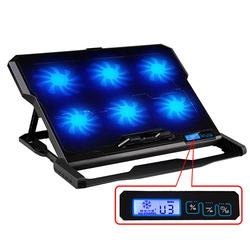 Notebook Laptop Cooler 2 USB Ports and Six Cooling Fan