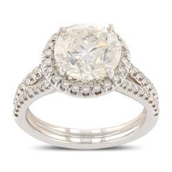 Elegant 3.66 ctw. Diamond Ring