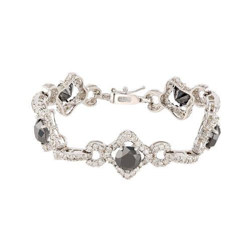 10.38 ctw. Black Diamond Bracelet