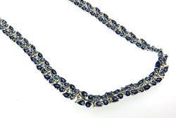 Tanzanite Sterling Silver Necklace
