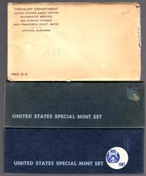 Complete Run of US Special Mint Sets: 1965-1967