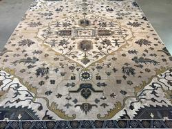 Classic Vintage Reproduction Medallion Design Rug 8x11