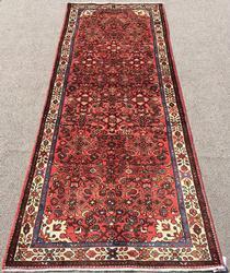 Charming Mid Century Authentic Handmade Fine Vintage Persian Rug