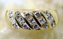 Gorgeous 14K 1Ct.TW Diamond Band