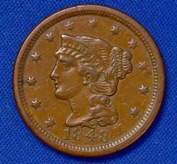 Nicer 1848 Large Cent