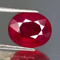 Ravishing 4.56ct 9x11mm blood red Ruby