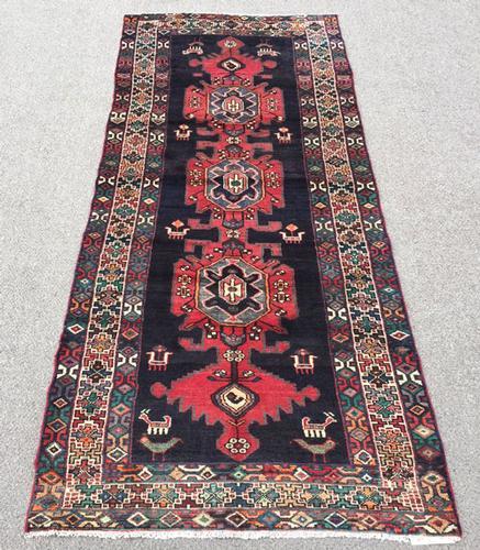 Very Unique 1960s Authentic Handmade Vintage Persian Akstafa