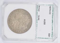 AU50 1879-CC Morgan Silver Dollar - PCI Graded