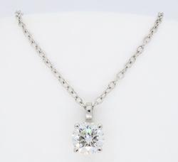 Platinum IGI Certified Diamond Necklace