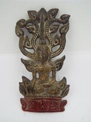 Antique Mandalay Burmese Buddha Statue / Amulet