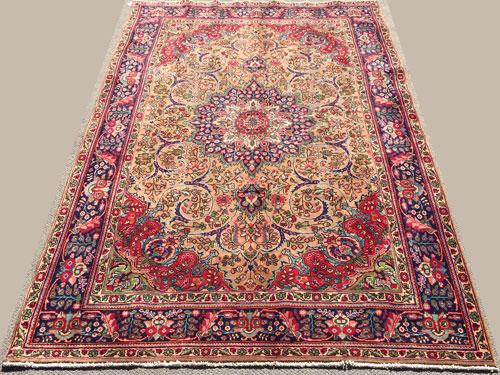 Simply Darling 1960s High Quality Handmade Vintage Royal Persian Rug