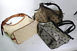 Group of 3 Dooney & Bourke Handbags