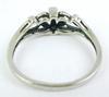 Pretty Sterling Filigree Cross Ring
