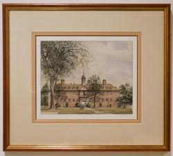 Color Etching View of the Wren Building