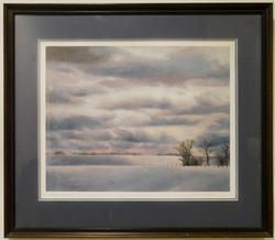 Limited edition Giclee 2 /100 Winter Scenery
