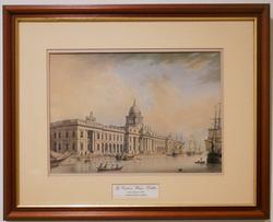 The custom House Dublin Ireland, James Malton 1803