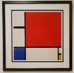 Piet Mondrian Composition II  Serigraph