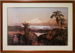 Frederic Edwin Church Lithoprint
