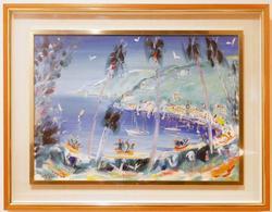 Original Oil on Canvas by Alberto Sanvitale