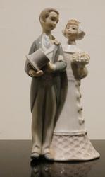Lladro Wedding Newlyweds Figurine