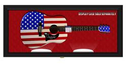 Chely Wright Autographed Signed USA Flag Guitar UACC &a