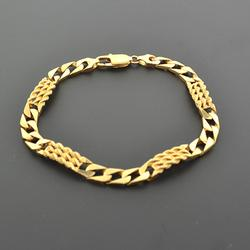 High End 14kt Solid Yellow Gold Bracelet