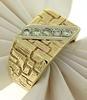 Luxe 14kt Gent's Diamond Ring