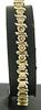 Dazzling 14kt Gold and 8+ Carat Diamond Bracelet